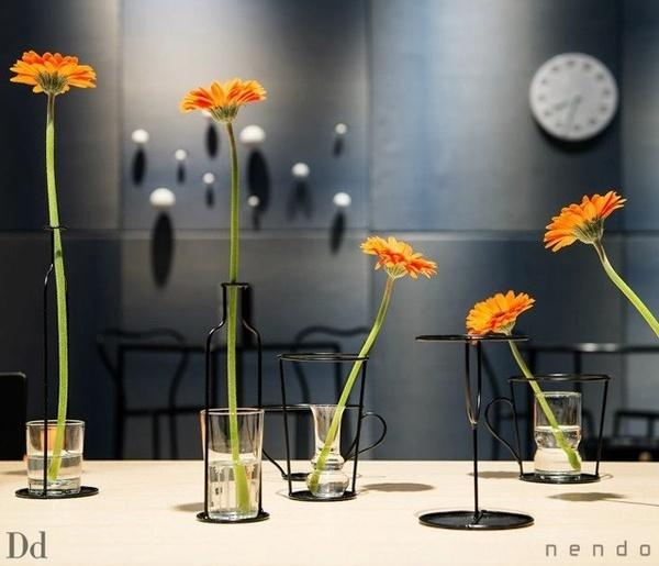 Thin Black vase by Nendo #interior #design #vase #home