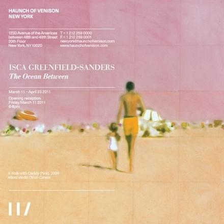 Haunch of Venison invitation #invite #gallery #design #graphic #art
