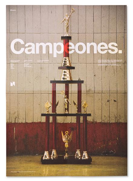 Zoom Photo #campeones #poster #trophy