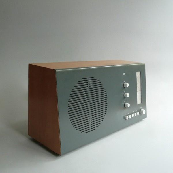 Dieter Rams #deutchland #radio #braun #1960