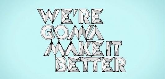 Make it better | Ubersuper #sebastin #make #baptista #video #it #type #better #typography