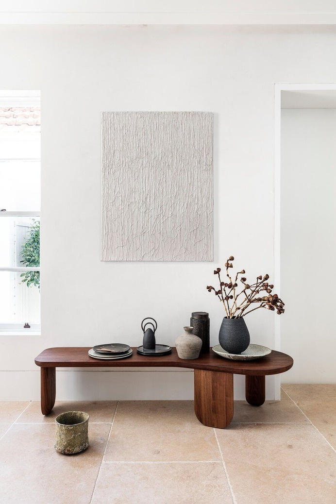 Darling Point House - Alteration and Addition of an Existing Victorian Cottage, End Table Detail