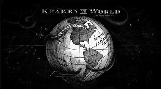 Kraken Rum Illustrated Animations... on the Behance Network #motion #world #illustration #sea #monster #graphics #rum #kraken
