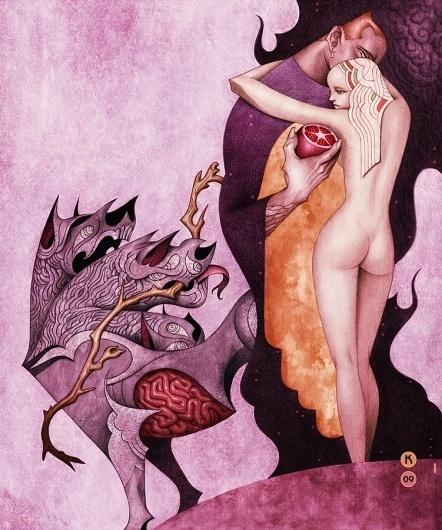 Mythos Project : Ed Kwong #illustration #art