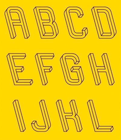 Subtraction.com: Frustro #typeface #frustro #impossible object