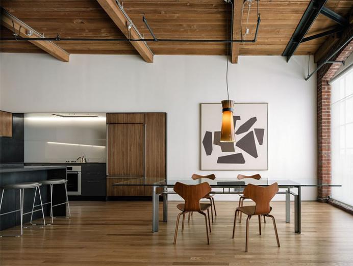 San Francisco Loft Steel Finishing - #decor, #interior