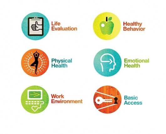 Healthways Well-Being Summit - Matt Lehman Studio #badge #icon #texture #illustration #colorful