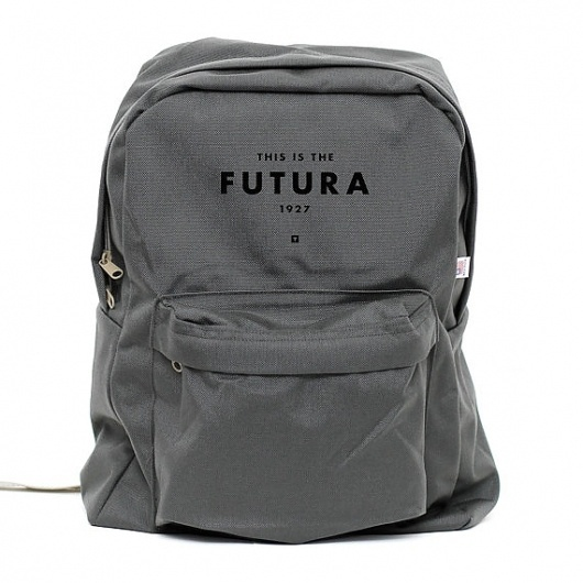 Backpack Futura 1927 Classic School Style by mediumcontrol #backpack #product #bags #futura #type #humor #typography