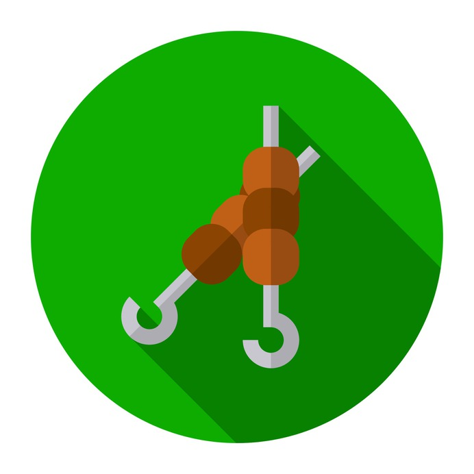 See more icon inspiration related to kebab, food and restaurant, skewer, grill, barbecue, meat and food on Flaticon.