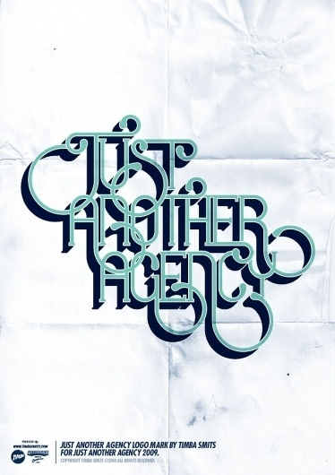 Timbas Type & Logo Dept. #agency #just #another #poster #type #typography