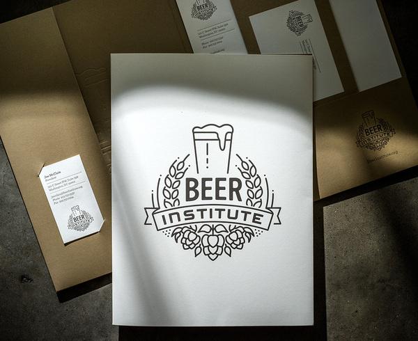 lovely stationery beer institute 1 #logo #logotype #beer