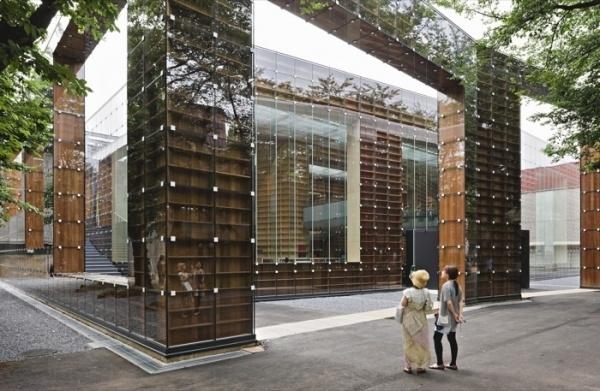 Sou Fujimoto: Bricks of paper and ink #libary #building #books