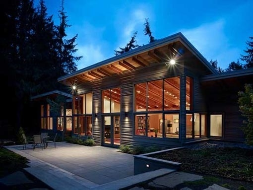 Fresh Design Interior | Middle of the Forest of Wooden Houses Port Townsend Residence #architecture #house