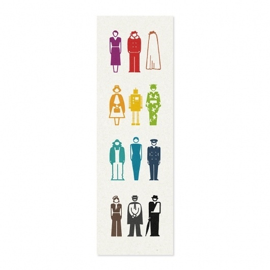 All sizes | Cast of Characters | Flickr - Photo Sharing! #burrows #modley #bookmark #jez #rudolf