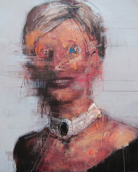 Kim Byungkwan   PICDIT #abstract #portrait #painting #art