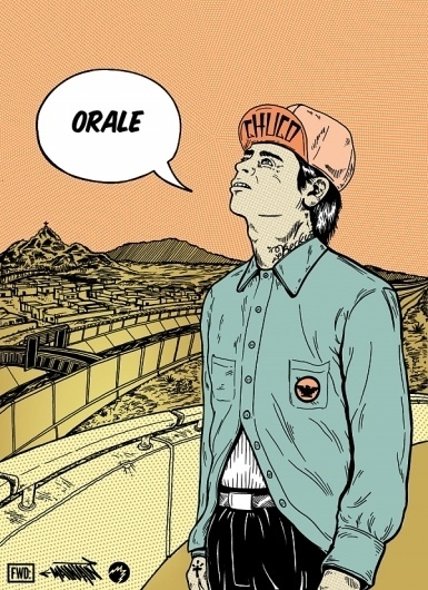 Zeque Penya Optical Shaman & Visual Culturalist #zeque #el #paso #illustration #poster #maintain #penya