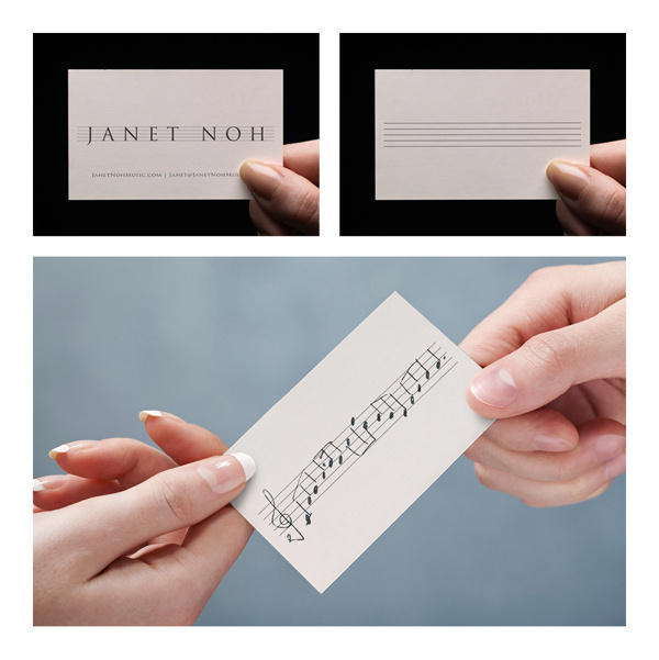Business card for musician #card #business #musician