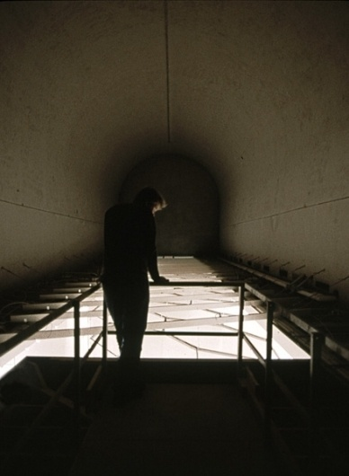 Kendall Buster Subterrain (White) #tunnel #man #light #intallation