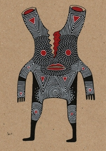 Thirteen : Cosmic Nuggets #pattern #nuggets #design #illustration #organic #character #cosmic