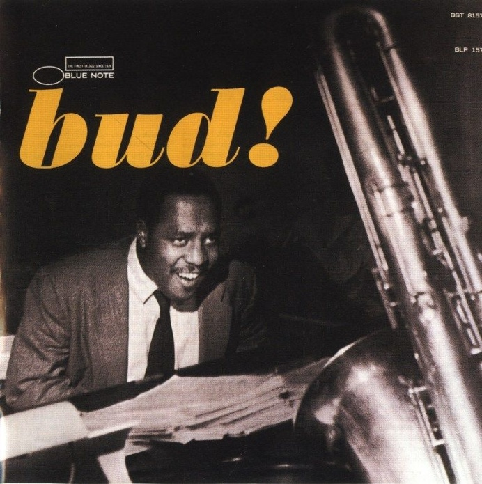 bud! blue note jazz album cover