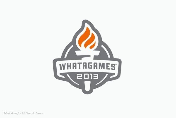 Whatagames logo by Murray Karl Hébert #flame #logo #whatagames #torch
