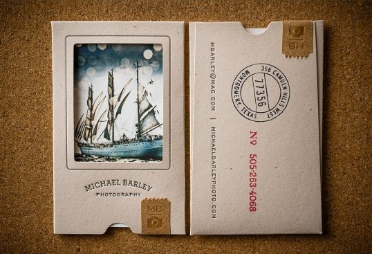 Michael Barley Photography #packaging #portfolio #cards #business