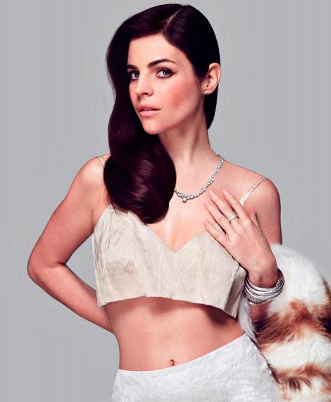 Julia Restoin Roitfeld by Michael Flores for Harper's Bazaar Mexico