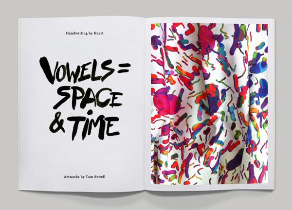 Heart Zine on Behance #fanzine #handwriting #design #type #editorial #magazine