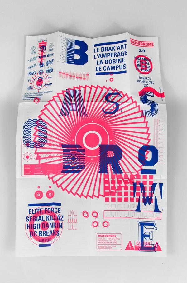 BASSODROME 2.0 -www.supersuper.fr #design #graphic #bassodrome #grenoble
