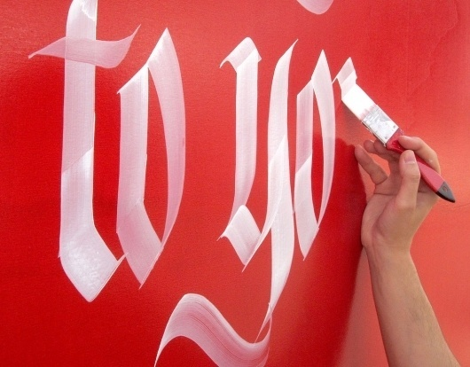 Calligraphy by Luca Barcellona | Type for you. #calligraphy #typography