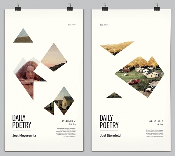Daily Poetry on the Behance Network #graphics #clara #fernndez #design #poster #type