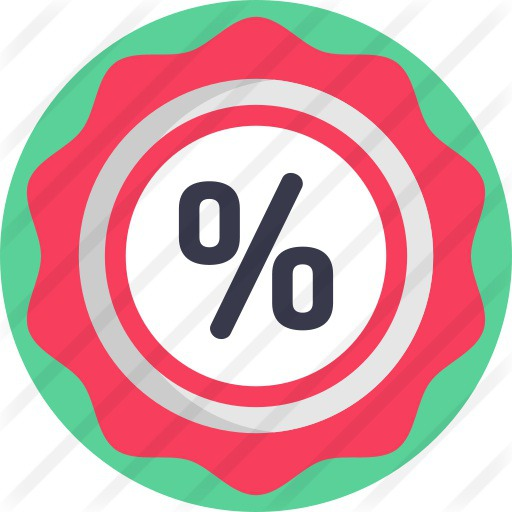 See more icon inspiration related to commerce and shopping, bargain, sticker, offer, label, percentage, sale, price, commerce and discount on Flaticon.