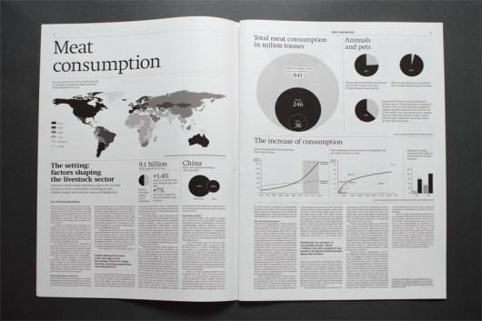 Gridness #design #graphic #info #layout #editorial #magazine