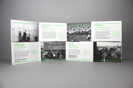 Effektive Studio. +44 (0)141 221 5070 #effektive #guide #exhibition #education #poster #mailer #fluroescent #typography