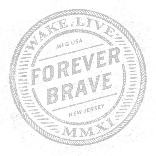 Forever Brave #betraydan #design #apparel #vinatge