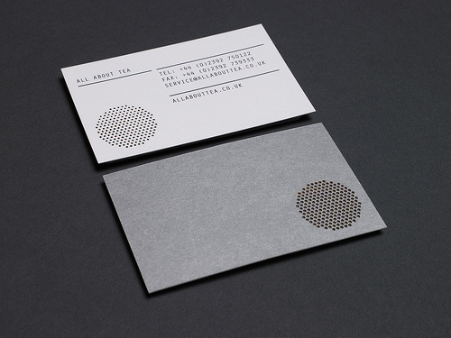 Moving Brands All About Tea Business cards #card #identity #business