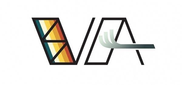 VA | Flickr - Photo Sharing! #type #logo