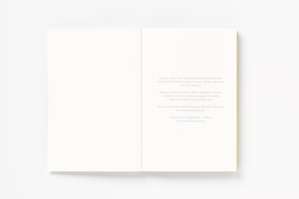 Today I'm Feeling Turquoise Pentagram Booklet #simple #layout