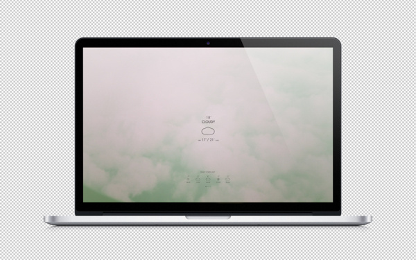 WHTR on Behance #screensaver #weather #icon #icons #set #app #concept #layout #osx
