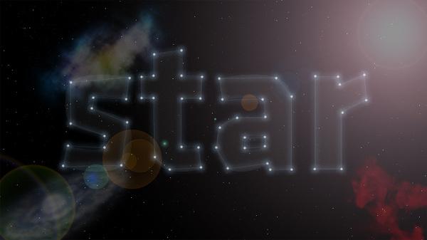 Star Typography #star #typography