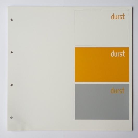All sizes | Otl Aicher, Albrecht Hotz: Handbuch des visuellen Erscheinungsbildes von durst, Brixen | Flickr - Photo Sharing! #otl #print #design #graphic #identity #aicher