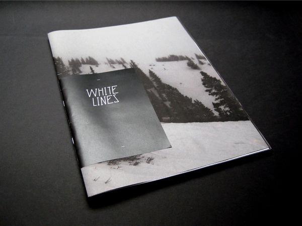 White Lines - Ingmar Spiller #cover #type #magazine