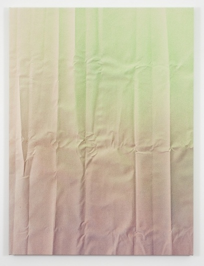 Tauba Auerbach #fold #acrylic #on #canvas #pastel