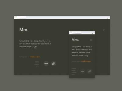 Portfolio Redirect Site.