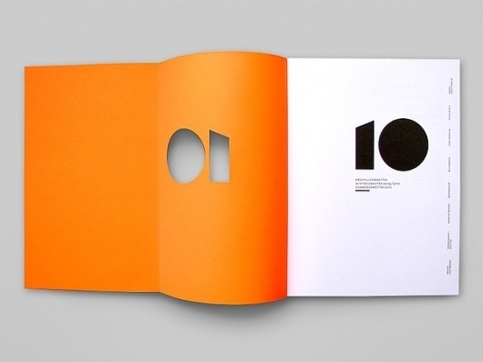 Yearbook 10 on the Behance Network #design #book #britta #siegmund #editorial