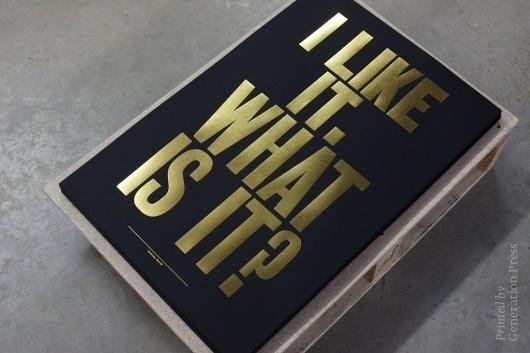 tumblr_m1jm2h3Z3S1qd04j5o1_1280.jpg 1,000×667 pixels #print #press #gold #generation #typography