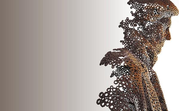 The Transience Sculptures of Artist Martí Moreno   Hi Fructose Magazine #metal #sculpture