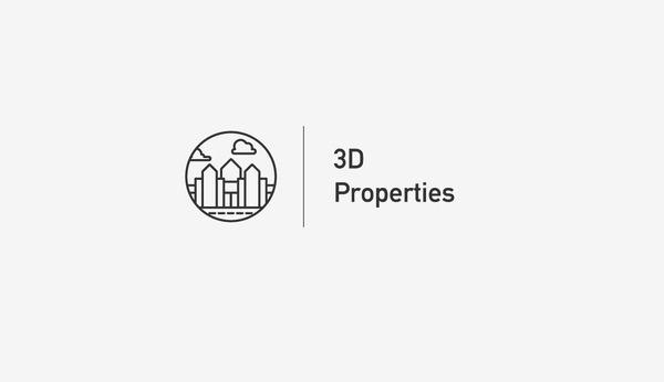 3d properties #logo