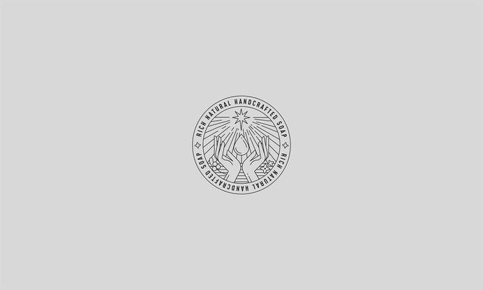 Rich Natural Handcrafted Soap - Mindsparkle Mag Projet Noir designed the branding and identity system for Rich Natural Handcrafted Soap. #logo #packaging #identity #branding #design #color #photography #graphic #design #gallery #blog #project #mindsparkle #mag #beautiful #portfolio #designer