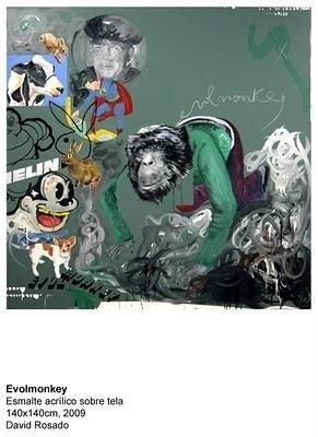 evolmonkey by David Rosado #rosado #david #art